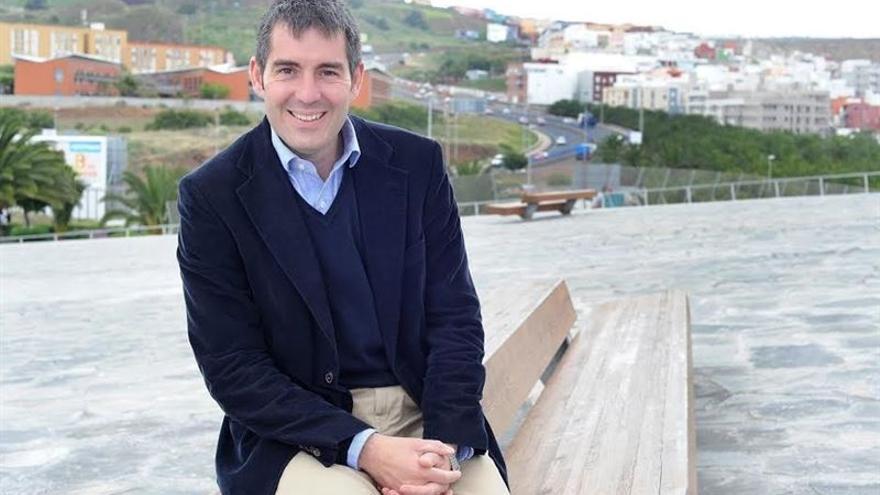 El candidato de CC a la Presidencia del Gobierno de Canarias, Fernando Clavijo. (Fotografía cedida a Europa Press).
