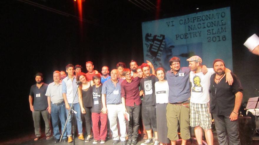 Participantes en el VI Campeonato Nacional de Poetry Slam / Anaís Carmena