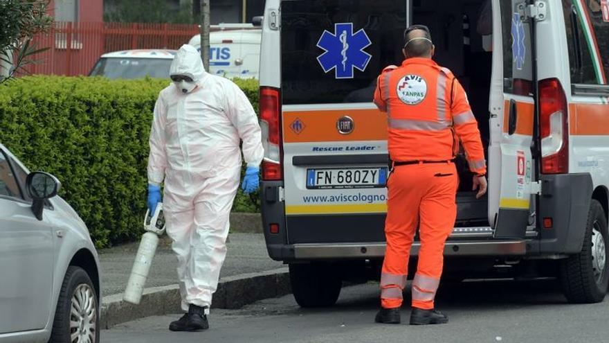 Italia batió su récord de muertes el viernes