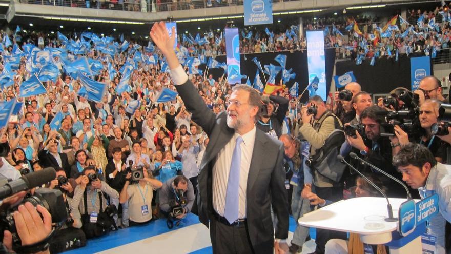 Rajoy presentará este sábado en Valencia las líneas maestras del programa del PP para las generales