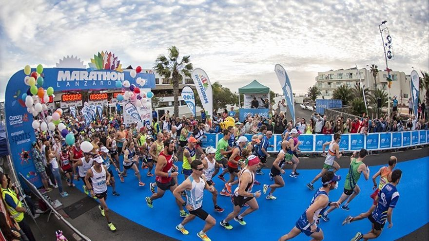Lanzarote International Marathon.