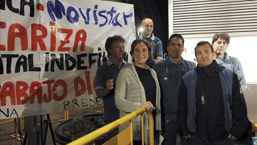 """Colau promete poner """"orden"""" frente a la desigualdad y la """"corrupción"""" de CiU"""