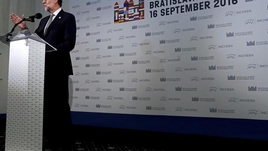 """Rajoy dice que en la UE están """"sorprendidos"""" por el bloqueo en España"""