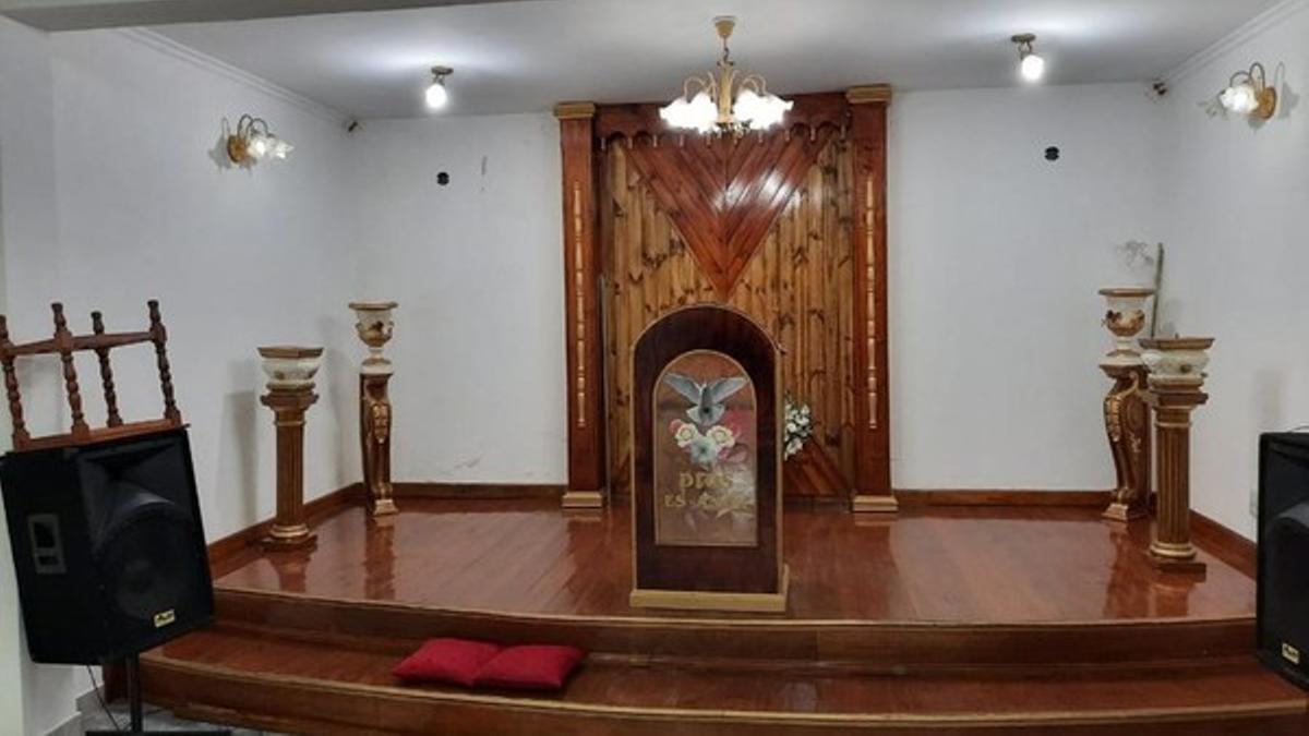 La sede principal del Templo Filadelfia, cuyos líderes están detenidos.