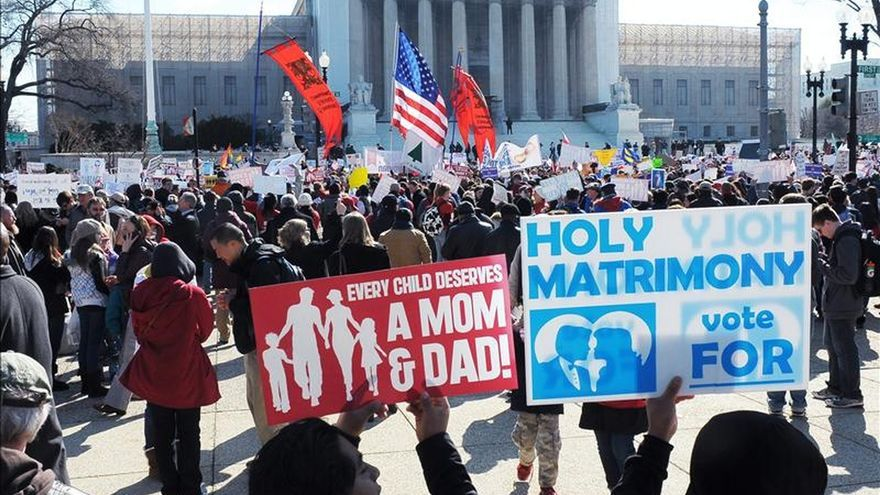 Las grandes empresas de EEUU apoyan el matrimonio gay ante la Corte Suprema