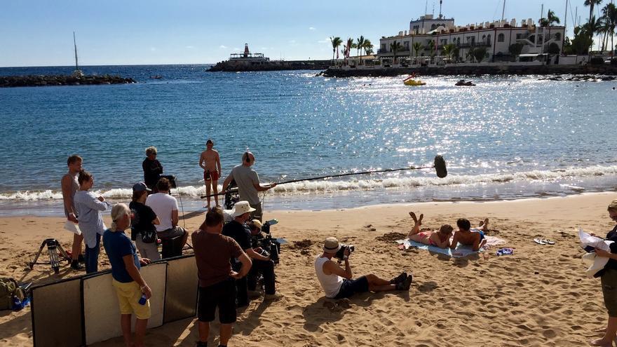 Gran Canaria acoge el rodaje de la película danesa '1, 2, 3… Go!'