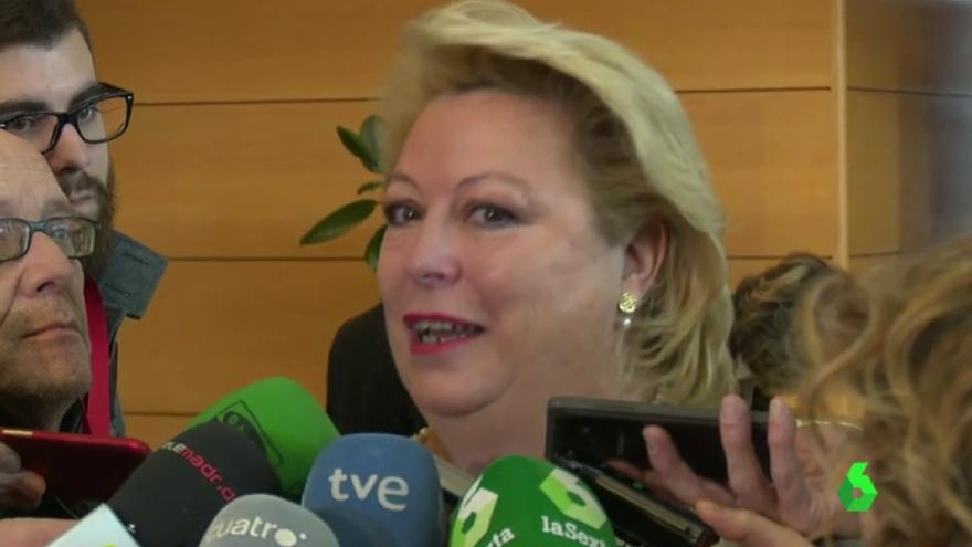 María Josefa Aguado, diputada del PP en la Asamblea de Madrid. Foto: Imágenes de de La Sexta