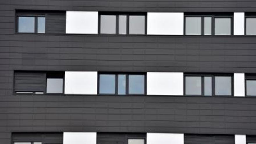 Un bloque de vivienda de protección oficial. Foto:etxebide.eus