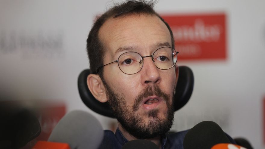 """Echenique dice que la ikurriña está """"normalizada en Navarra"""", como la bandera de """"España en buena parte"""" del territorio"""