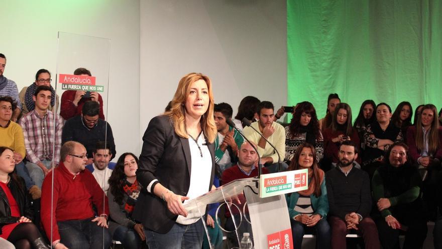 """Díaz """"no pactará con PP ni con Podemos"""" ya que no lo hará """"con quien daña a los ciudadanos ni quien nos insulta"""""""