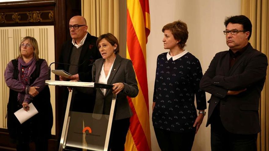 Forcadell no contemplan ser inhabilitada tras resolución del Constitucional