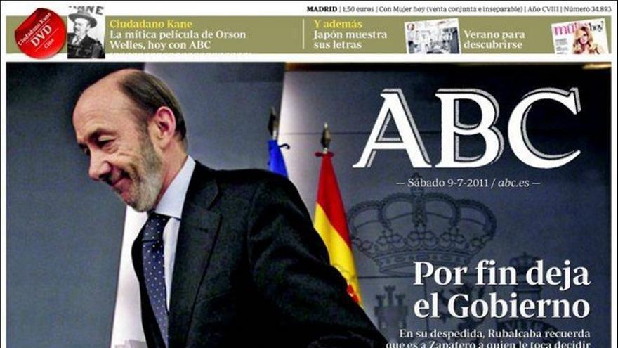 De las portadas del día (09/07/2011) #4