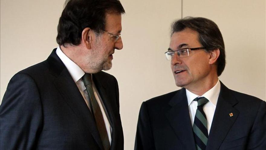Rajoy y Mas se ven hoy en Barcelona mientras se reaviva el debate soberanista