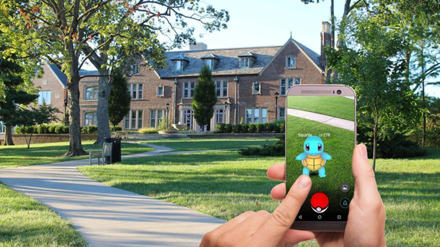 Pokémon GO ya introdujo el efecto paralaje en su popular juego