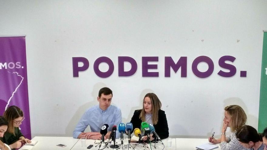 Ferran Martínez y Ángela Ballester, miembros del Consejo Ciudadano de Podem