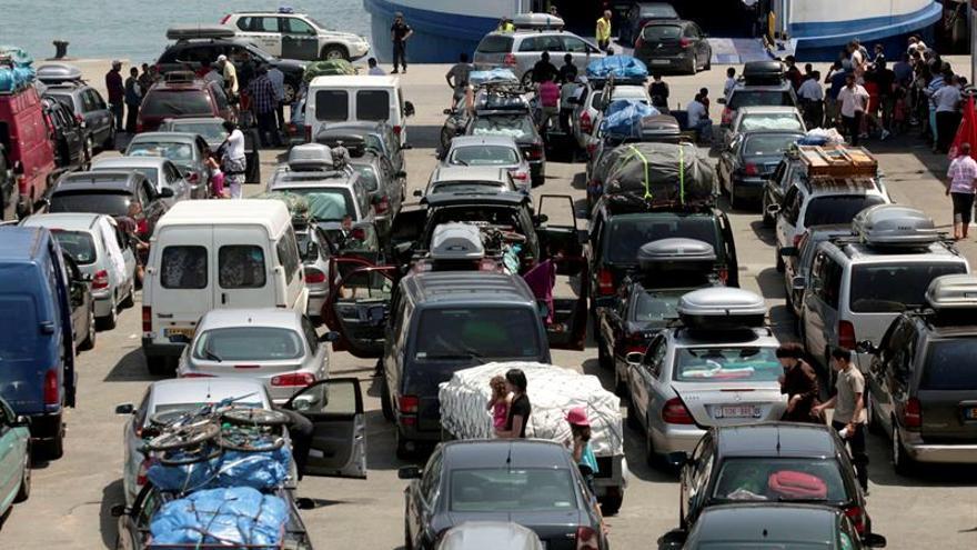 Las autoridades de Ceuta acuerdan medidas especiales para evitar el colapso en la frontera