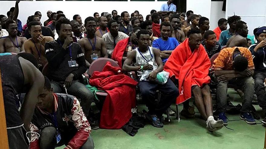 El CETI de Ceuta alcanza el mínimo histórico en los últimos meses con 540 inmigrantes