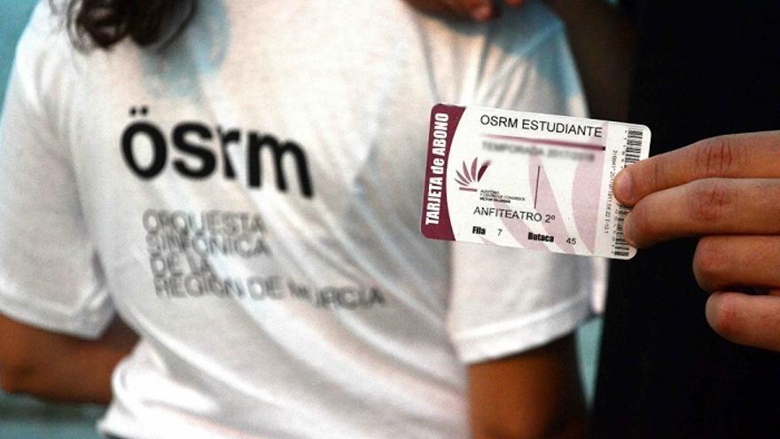 La OSRM lanza el abono para estudiantes para su ciclo de conciertos en el Auditorio regional