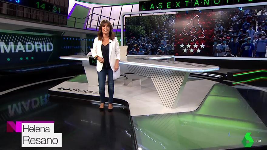 Helena Resano en su regreso a laSexta Noticias