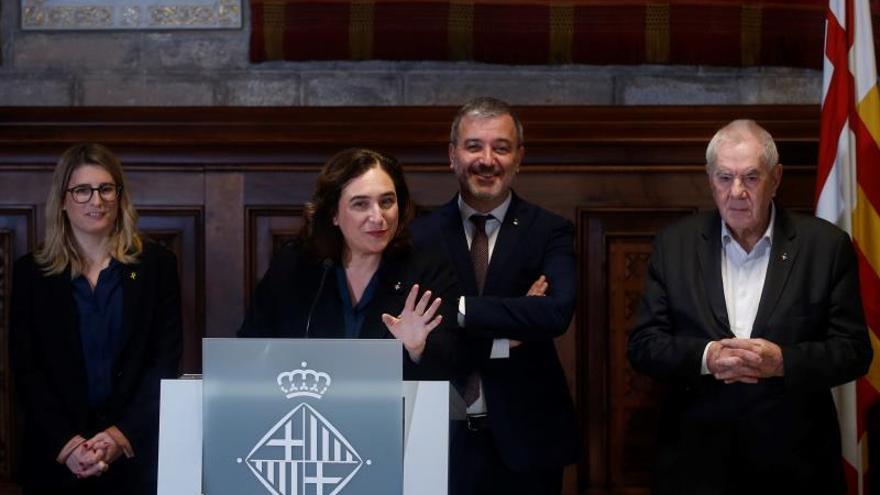 Comunes, PSC, ERC y JxCAT pactan un presupuesto histórico para Barcelona