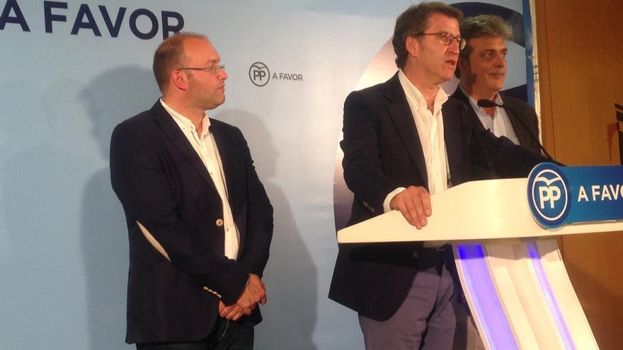 """Feijóo mantiene que las elecciones serán """"en torno"""" a la fecha de las gallegas de 2012 que fueron el 20 de octubre"""