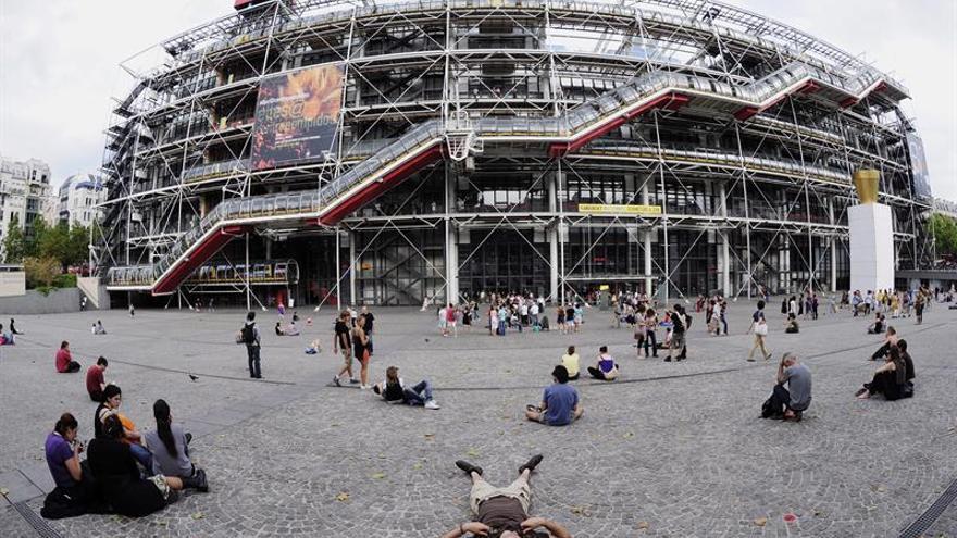 El Centro Pompidou de París reabre después de 11 días cerrado por una huelga