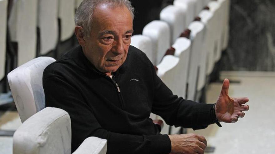 José Luis Gómez dice que la subida del IVA atenta contra la supervivencia cultural