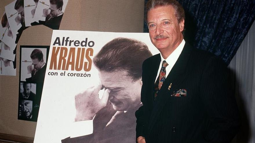 Cinco óperas de Alfredo Kraus en la 50 edición de la temporada de Las Palmas