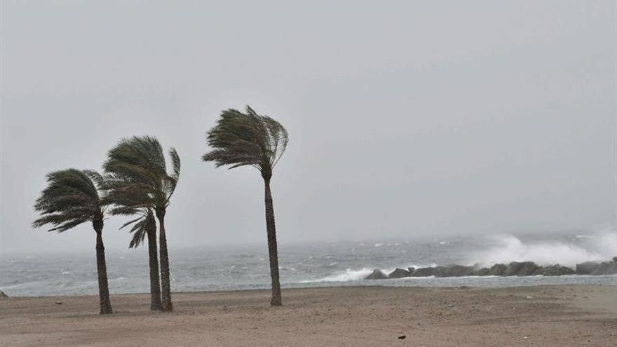La borrasca Flora dejará vientos huracanados en el área mediterránea