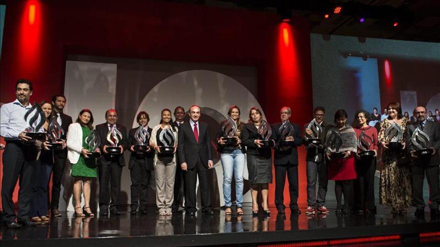 Los Premios Santander Universidades celebran una década con récord de participantes