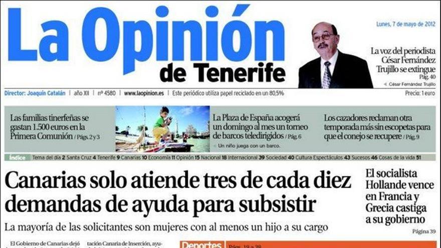 De las portadas del día (07/05/2012) #5