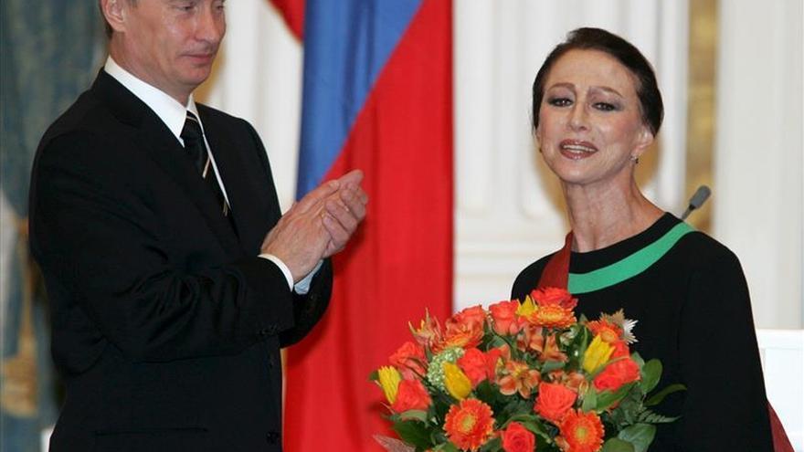 El mundo llora la muerte de Plisétskaya, la bailarina universal