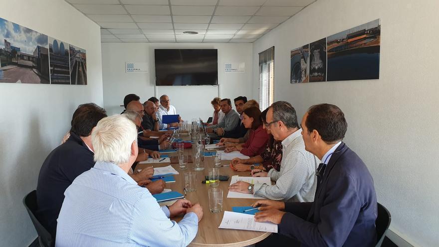 Reunión de Aquavall este miércoles en Valladolid.