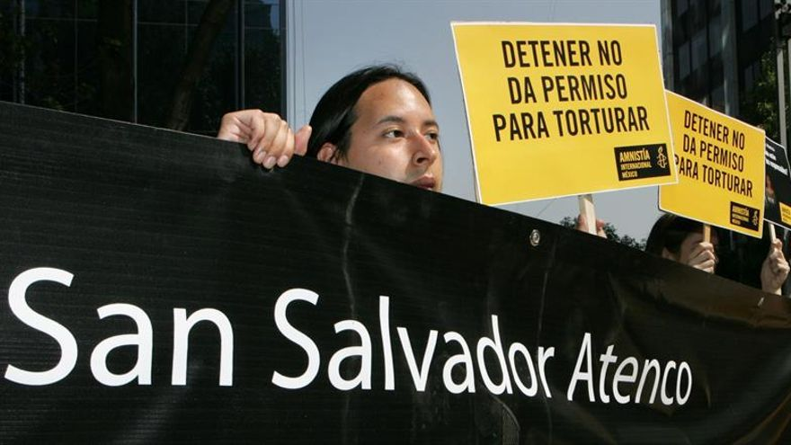 Víctimas de impunidad y tortura luchan contra el olvido a 10 años del caso Atenco en México