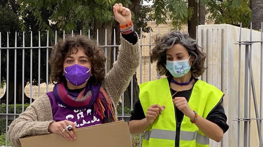 Movilización este lunes junto al Parlamento de Andalucía