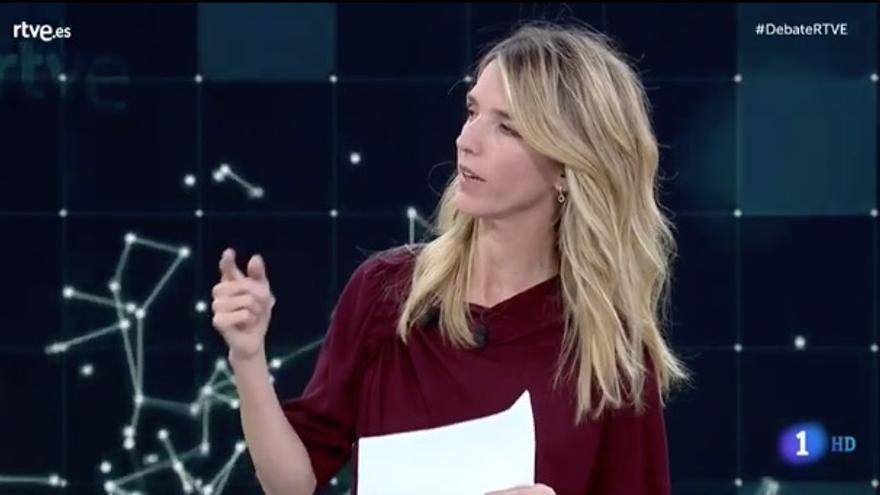 Cayetana Álvarez de Toledo carga contra la política de igualdad del PSOE en el debate de RTVE.