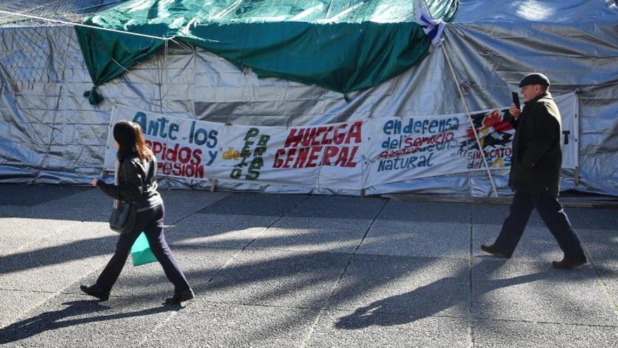 """Trabajadores de Petrobras en Uruguay levantan la huelga ante """"un triunfo"""" del país"""