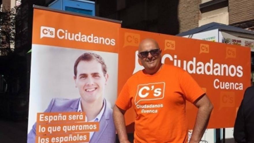 José Ortiz, responsable de comunicación de Ciudadanos en Cuenca