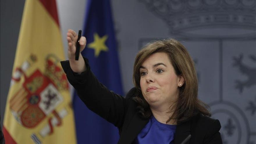 Saénz de Santamaría sobre Rouco Varela,el Gobierno es muy respetuoso con las opiniones