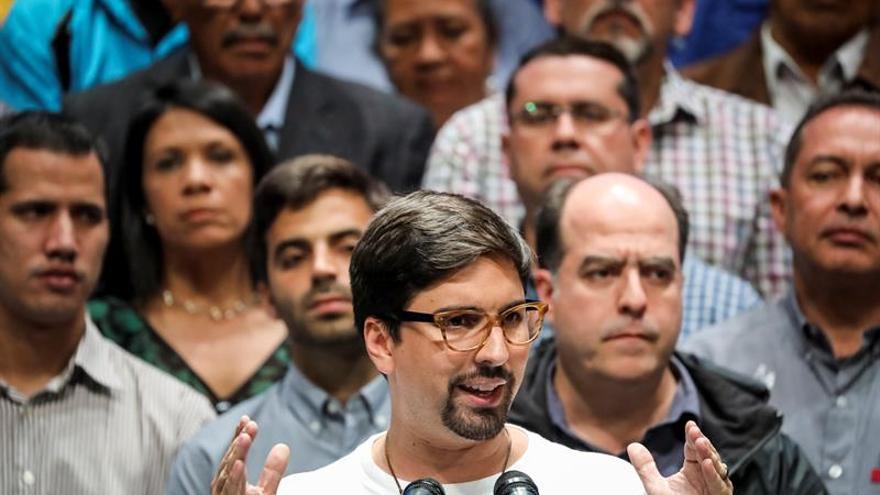 El Parlamento venezolano respalda a Freddy Guevara ante la acusación del Supremo