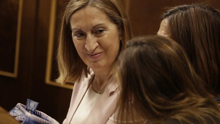 Ana Pastor, elegida nueva presidenta del Congreso tras derrotar a Patxi López en la segunda votación