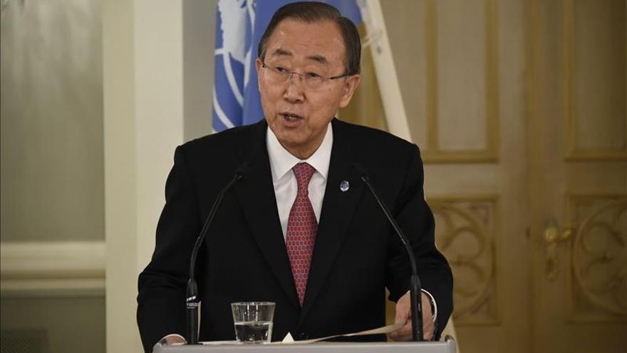 Ban Ki-moon confía en que se alcanzará un acuerdo en la cumbre de París