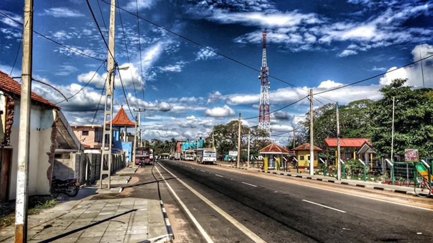 Kalpitiya, localidad costera al noroeste de Sri Lanka, ha sido destacada como punto de vulneración de derechos humanos debido a la llegada del turismo. / Rafa Gassó.