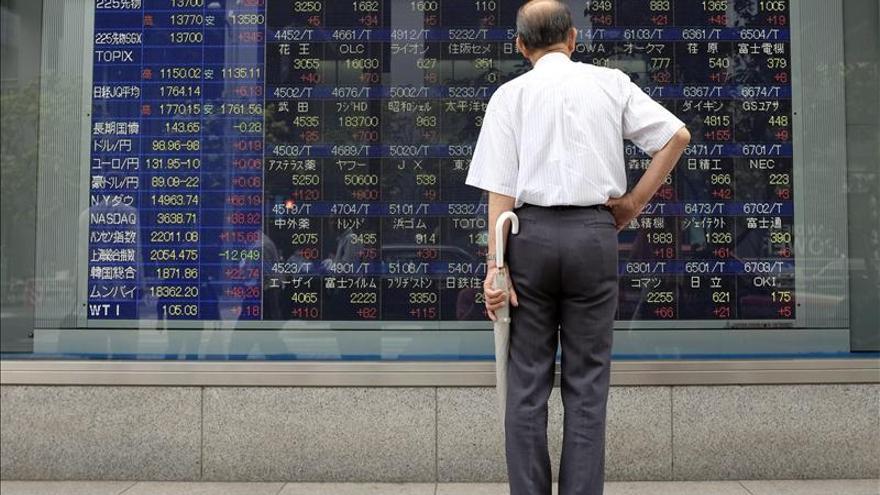 El Nikkei sube 102,27 puntos, el 0,68 por ciento, hasta las 15.178,35 unidades