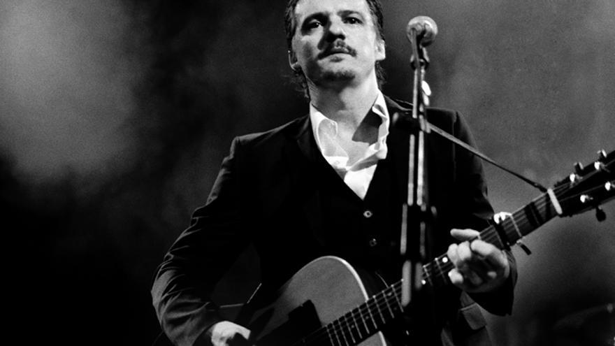 Coque Malla en su concierto en Luz de Gas./David Ruiz