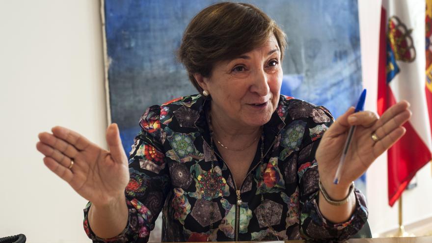 María Luisa Real, consejera de Sanidad del Gobierno de Cantabria. | JOAQUÍN GÓMEZ SASTRE