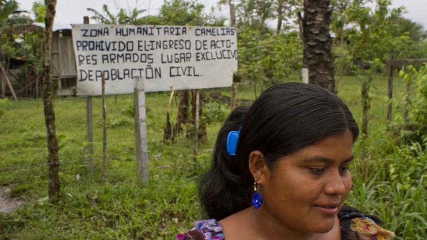 Zona Humanitaria Camelias - Colombia/ M González-Noda.