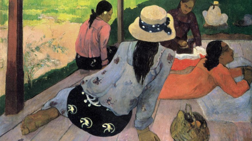 Paul Gauguin, 'Siesta', 1983.