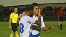 El joven Jorge abrió el marcador para el CD Tenerife en el partido de Copa ante el Mensajero.