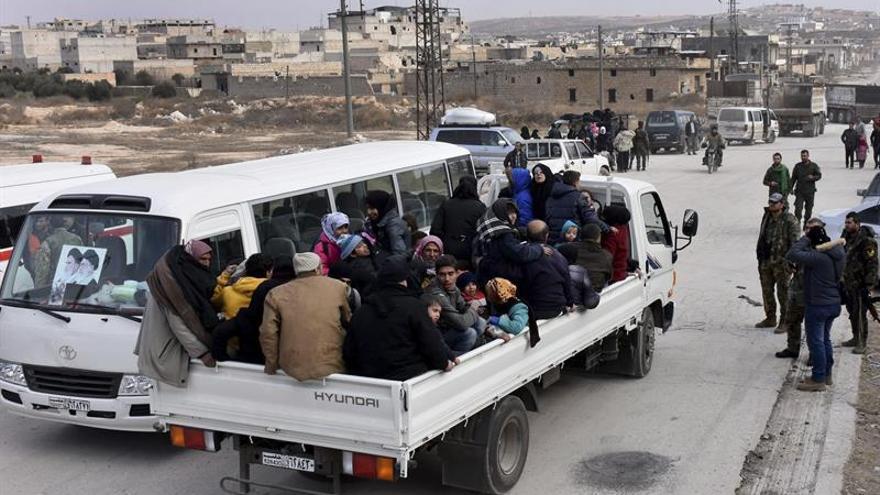 Facciones ganan terreno a las fuerzas gubernamentales en el sureste de Alepo